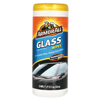ARMOR ALL ® Glass Cleaning Wipes JH324 | Rideout Tool & Machine Inc.