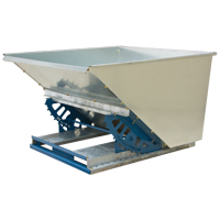 Knocked-Down Self-Dumping Hopper MO130 | Rideout Tool & Machine Inc.