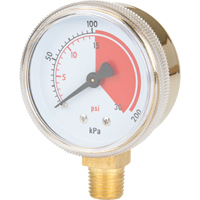 Brass Gauges NT623 | Rideout Tool & Machine Inc.