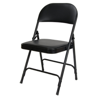 Vinyl Padded Folding Chair OP962 | Rideout Tool & Machine Inc.