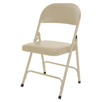 Vinyl Padded Folding Chair OP963 | Rideout Tool & Machine Inc.