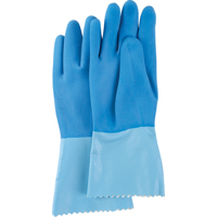 Blue-GripTM Heavyweight Natural Rubber Latex Gloves SN730 | Rideout Tool & Machine Inc.