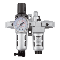 Modular Filter/Regulator & Lubricator (Gauge Included) TYY178 | Rideout Tool & Machine Inc.