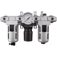Modular Filter, Regulator & Lubricator (Gauge Included) TYY181 | Rideout Tool & Machine Inc.