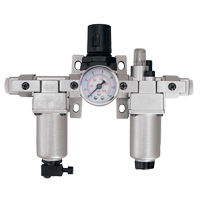 Modular Filter, Regulator & Lubricator (Gauge Included) TYY184 | Rideout Tool & Machine Inc.